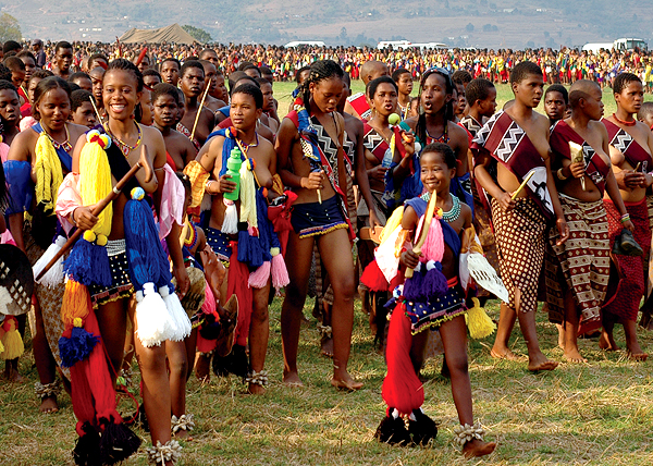 Swaziland Reed Dance 2014